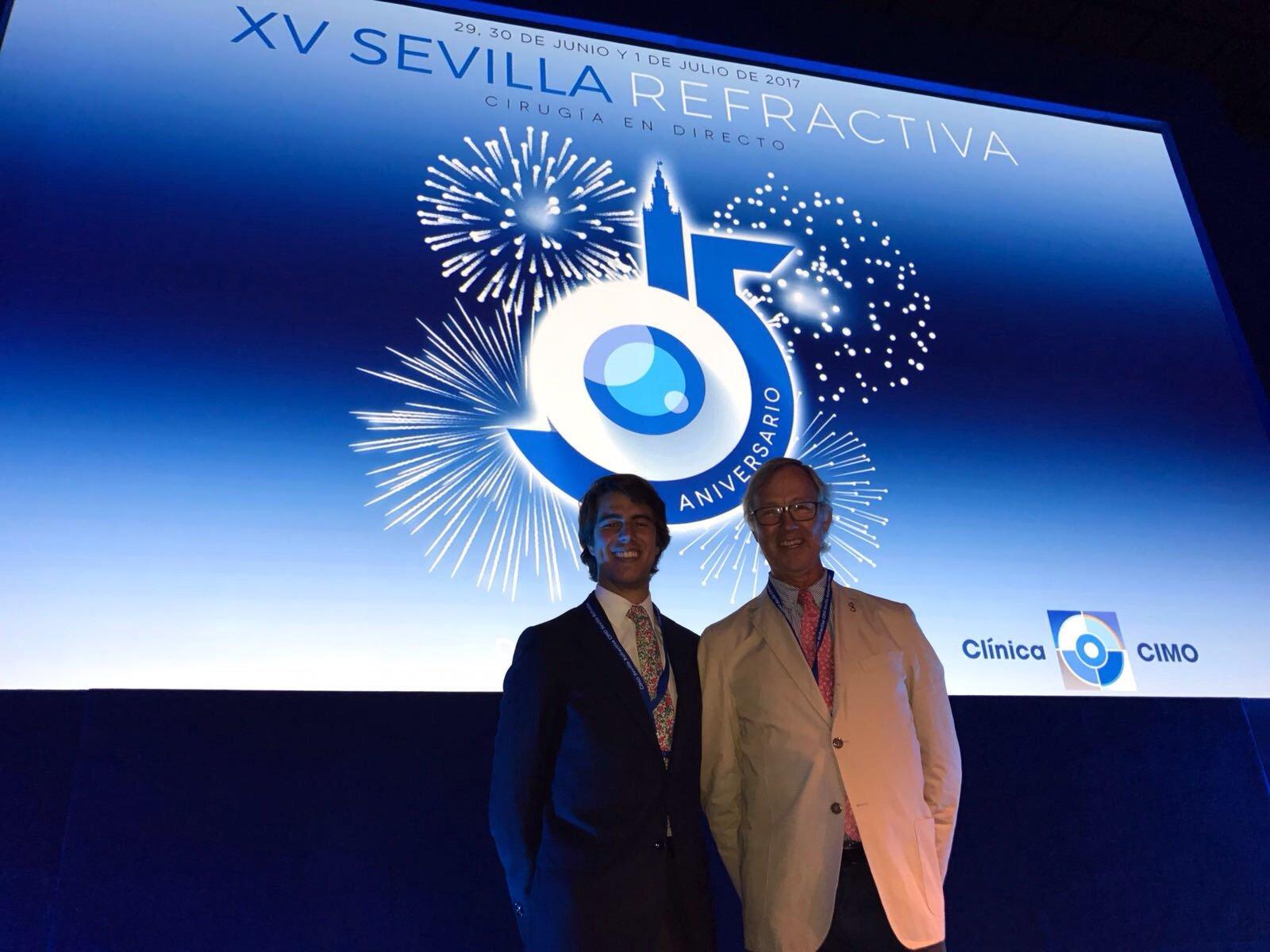 "DRS GARCÍA DE OTEYZA PARTICIPATE ACTIVELY AT ""SEVILLA REFRACTIVA"""