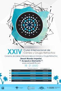 Curso internacional de córnea y cirugía refractiva